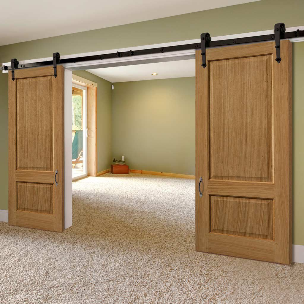 Double Sliding Door & Track