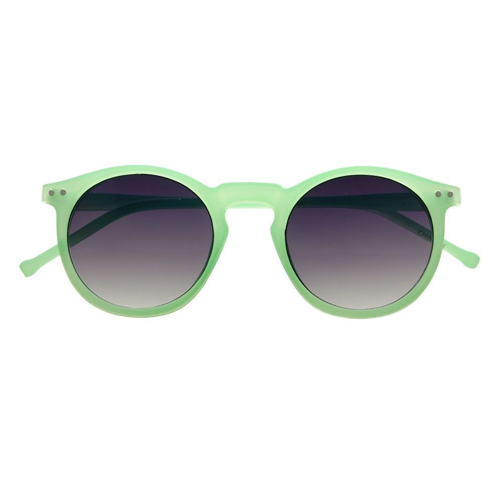 Colorful Retro Vintage Fashion Celebrity Keyhole Round Sunglasses R2590