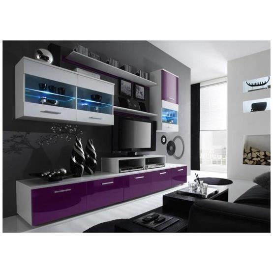 BonsPlans #Meubles #Design #Cdiscount ❤ #Meuble #tv #LED design ...