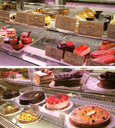 Financier Patisserie display by jumanggy, via Flickr Best bakery, Patisserie, Baking