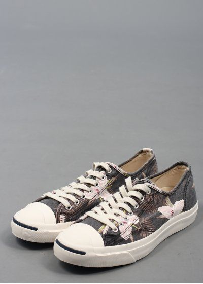 ee5dffb36902 Converse Jack Purcell LTT OX Floral - Dark Navy Converse Jack Purcell
