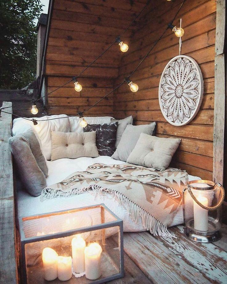 20 Inspiring Balcony Decorating Ideas: Patio & Terrace Inspiration In 2019