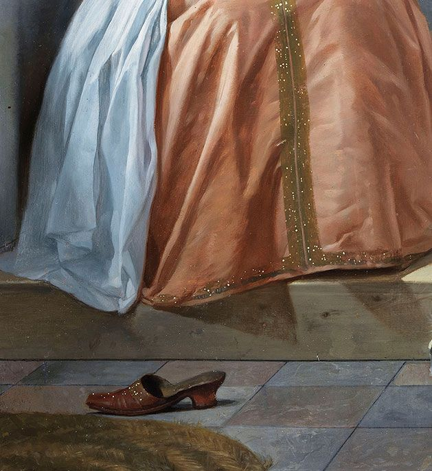 Gabriel Metsu - detail Woman reading a letter