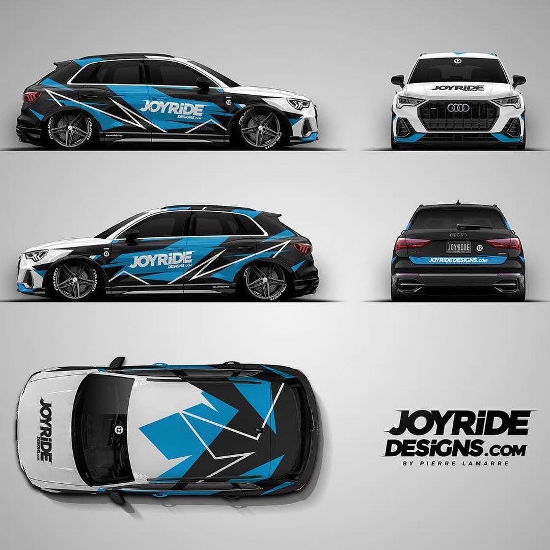#Repost @joyride_designs ・・・ 2019 Audi Q3 Livery Design