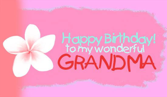 Free Grandma eCard eMail Free Personalized Birthday Cards Online – Card Birthday Online
