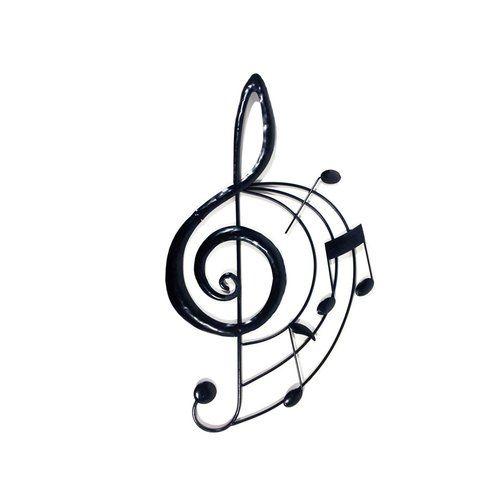 Happy Larry Treble Clef Music Score Wall Decor #trebleclef