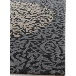 Photo of benuta Naturals Wollteppich Nesta Grau/Anthrazit 160×230 cm – Naturfaserteppich aus Wolle