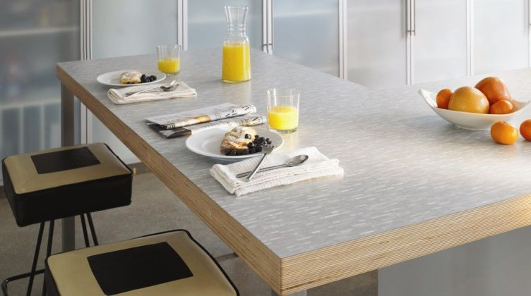Like The Contrasting Edge For Standing Height Counter Formica
