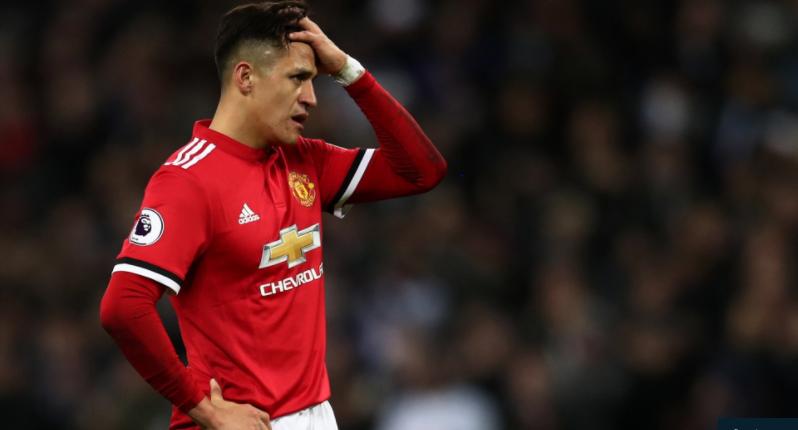 Manchester United Manager Jose Mourinho Praised Alexis Sanchez S Effort But Felt The Attacker Was Not Suite Manchester United Soccer Premier League Man United