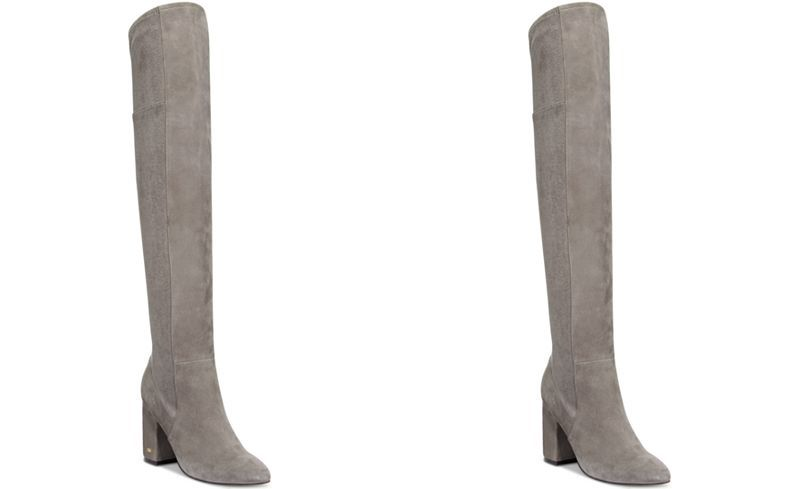 ee16f9f308e Heeled over the knee boots in grey. love. Cole Haan Darla Over-The-Knee  Boots - Boots - Shoes - Macy s