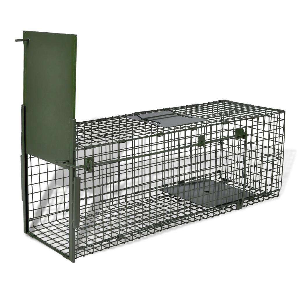 Life Trap 1 Door Animal Traps Steel Cage Pet Cage