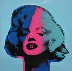 Steve Kaufman (SAK) - Marilyn Monroe (Blue)