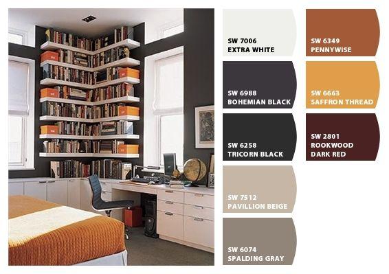 office colour schemes green office color options palettes pinterest paint ideas