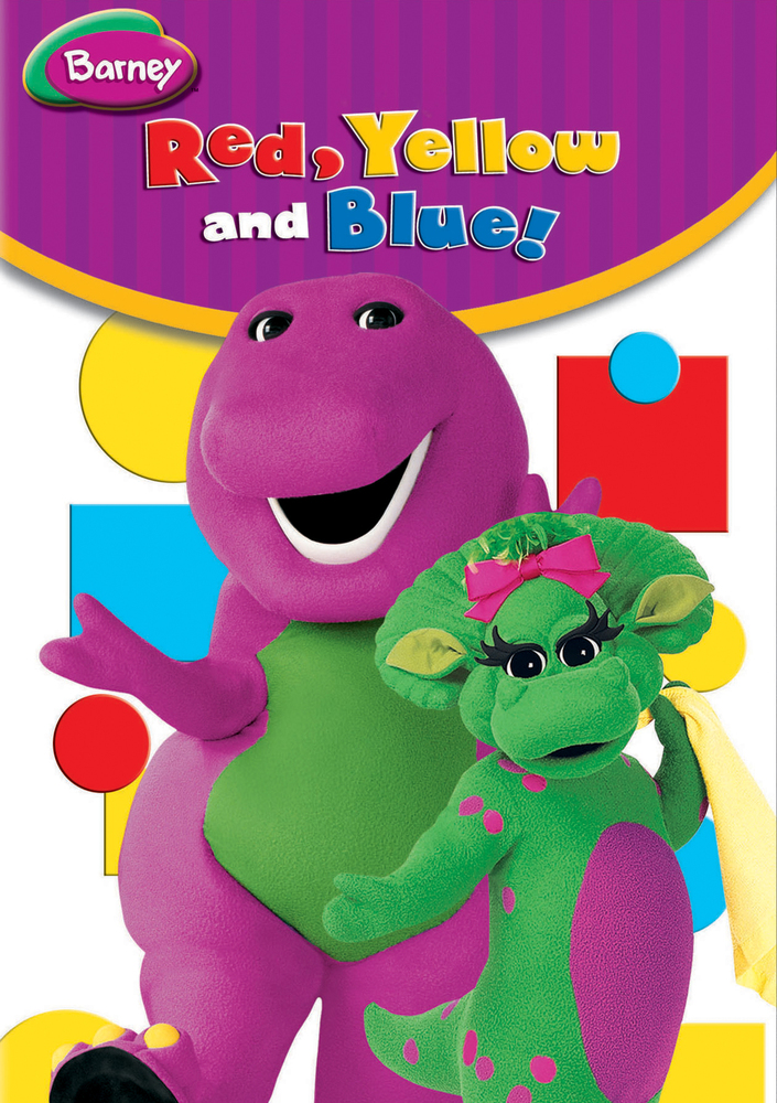 Barney Red Yellow And Blue Dvd Best Buy Barney The Dinosaurs Barney New Kids Movies