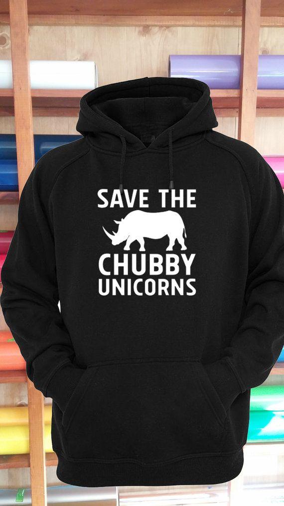 6d178234884 Save The Chubby Unicorns Hoodie Sweatshirt Shirt Unisex S-5XL 24 Colors  Unicorn Mythological Real Un