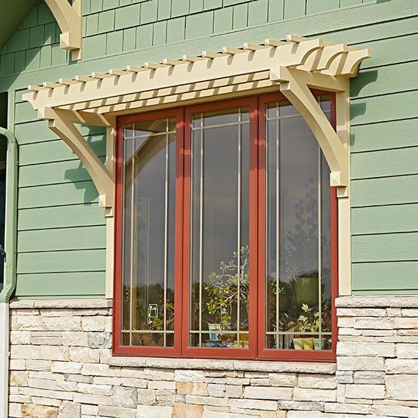 Window Or Door Arbor Woodworking Plan From Wood Magazine Backyard Structures Door Arbor Window Pergolas