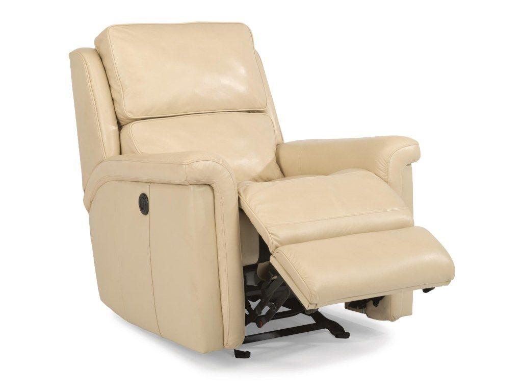 Flexsteel Latitudes Toshaglider Recliner With Power Mattress Furniture Furniture Living Room Leather