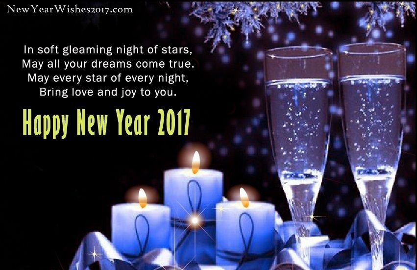 Happy New Year Wishes Messages for Friends & Family New
