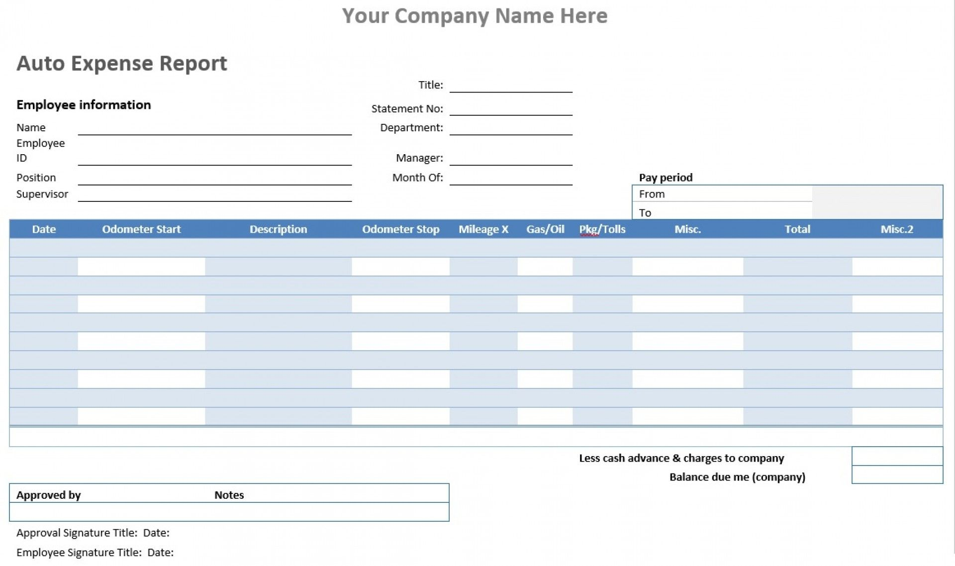001 Auto Expense Report Template Ideas Free Microsoft Top Within Gas Mileage Expense Report Template Best Word Template Report Template Invoice Template Word