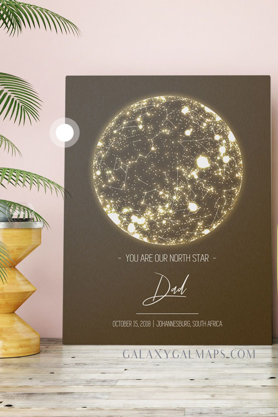Your Personal Night Sky Map By Date And Place Gifts For Men Our House Birthday Gifts For Kids Personalised Gifts For Husband Anniversary Gifts For Husband