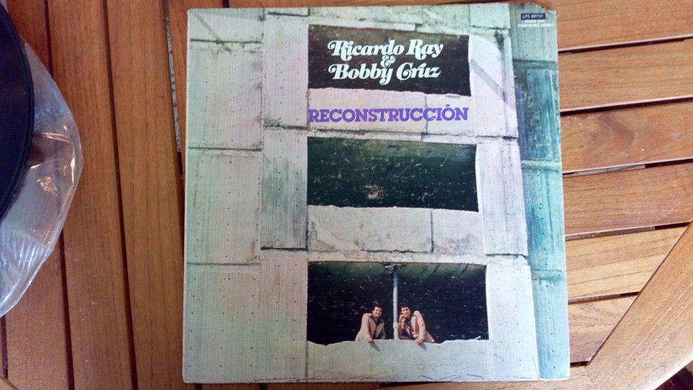 Ricardo Ray & Bobby Cruz Reconstruccion LP Vinyl Record ...