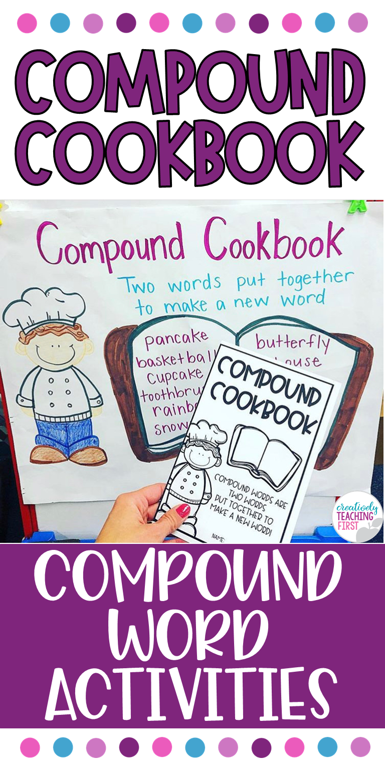 Compound Words Activitities Compound words, Words, Word work