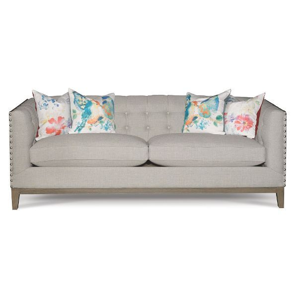 Amazing Mid Century Modern Taupe Sofa Gail Townhouse Taupe Pabps2019 Chair Design Images Pabps2019Com