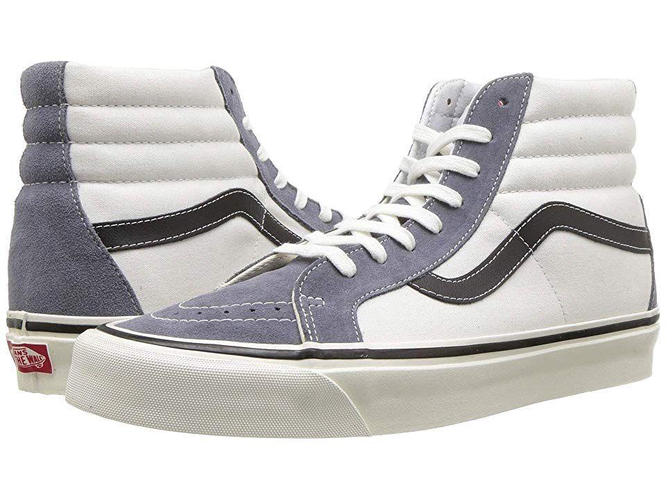 Vans Ua Sk8 Hi 38 Dx Anaheim Factory Og Dark Grey Og White Athletic Shoes Keep It Old School Every Step Of White Athletic Shoes Vans High Top Sneaker Vans