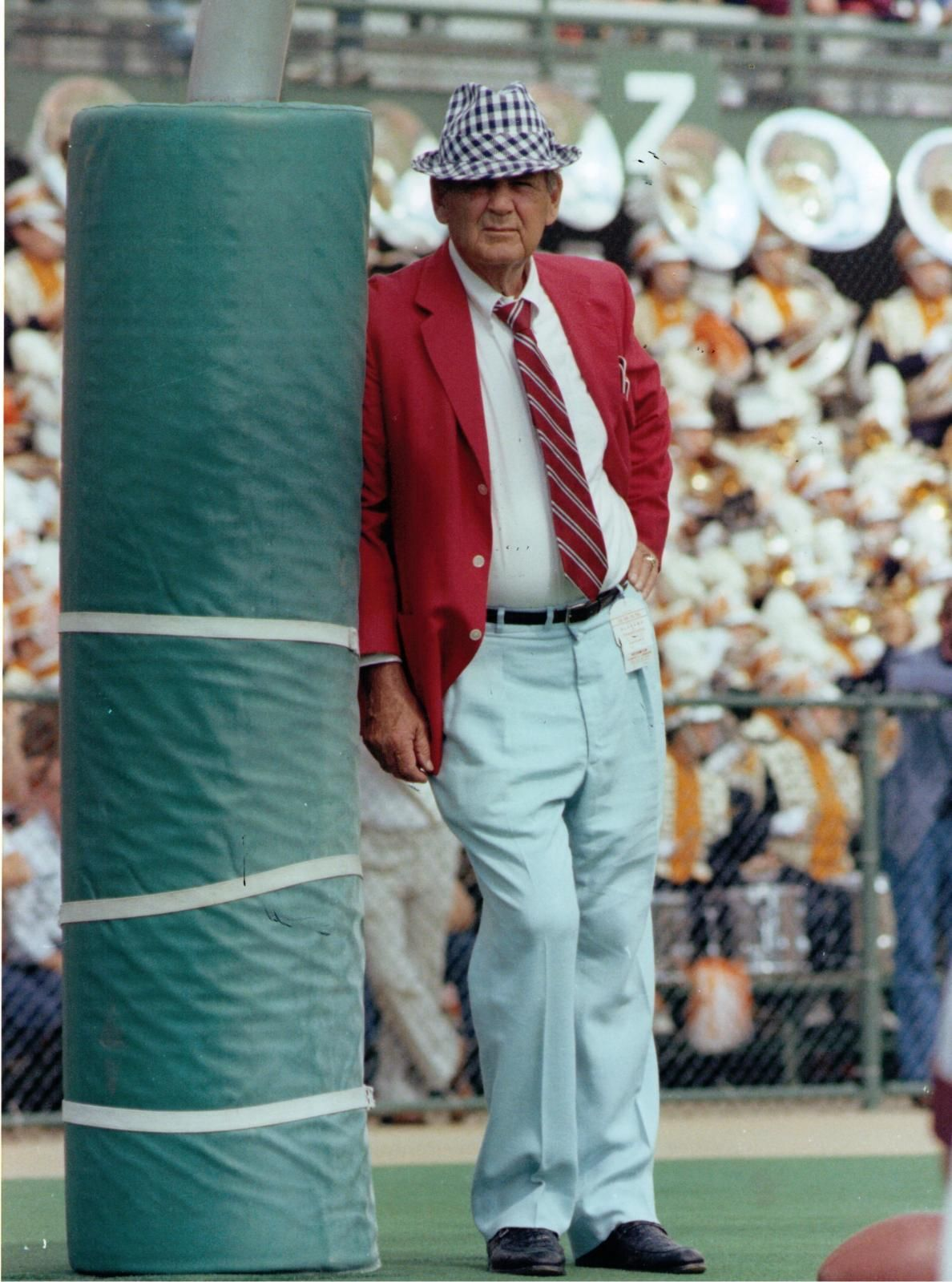 Coach Bryant In Houndstooth Did You Know He Bought All Of His
