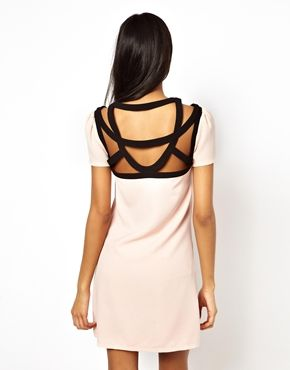 always in the mood for a good light pink and black, cut-outs make it just edgy enough