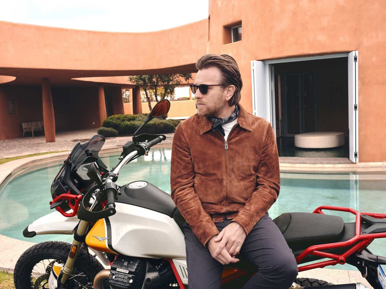 HOLLYWOOD STAR EWAN MCGREGOR IS THE AMBASSADOR FOR THE