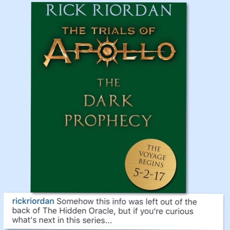 I Screamed When I Saw This I Have Not Read The Hidden Oracle Yet