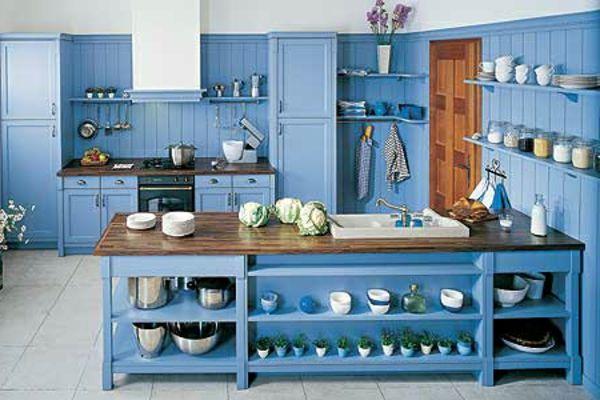 30 coole Küchen Designs | blau Kücheninsel, Küchen design und ...