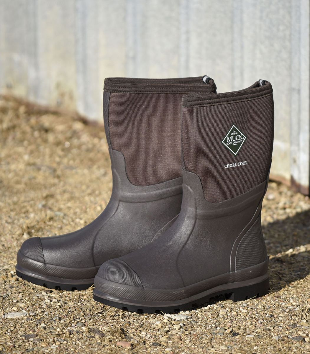 a18dfe22fa5 Mid Cool Unisex Chore Boots - Mens 5/Womens 6 Brown | Men's Chore ...