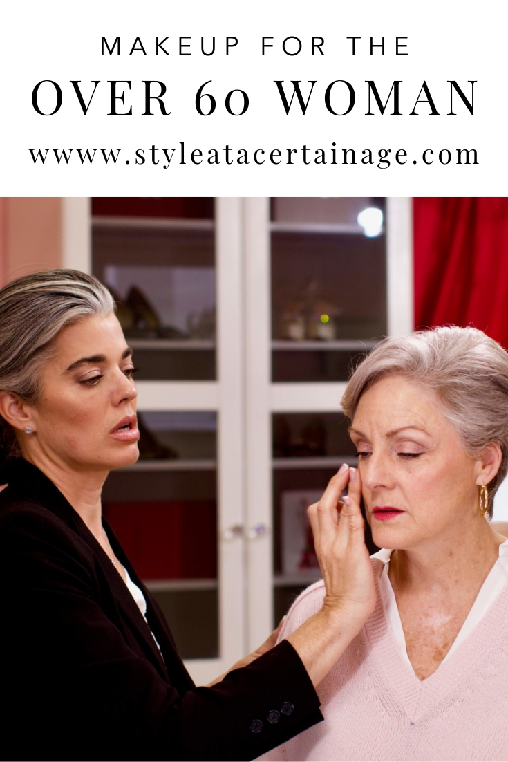 makeup for the over 60 woman with nikol johnson Makeup
