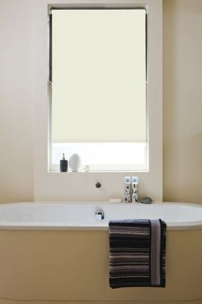 Latte Bathroom Roller Blind | Blinds, Waterproof roller ...