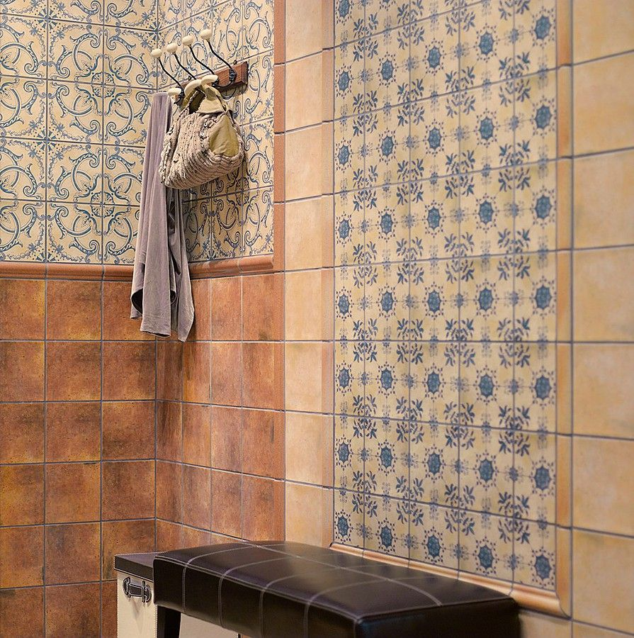 Barros-Mainzu-1, Wohnzimmer, Stil Provence, Optik: Terrakottaoptik ...