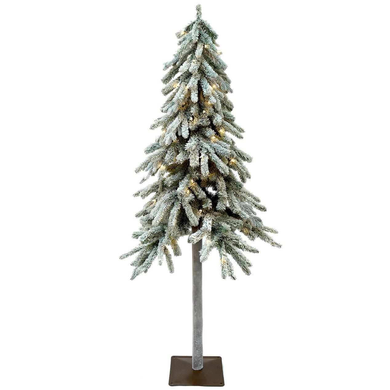 Sl9 6ft Pre Lit Crawley Flocked Christmas Tree At Home Flocked Christmas Trees Christmas Tree Christmas