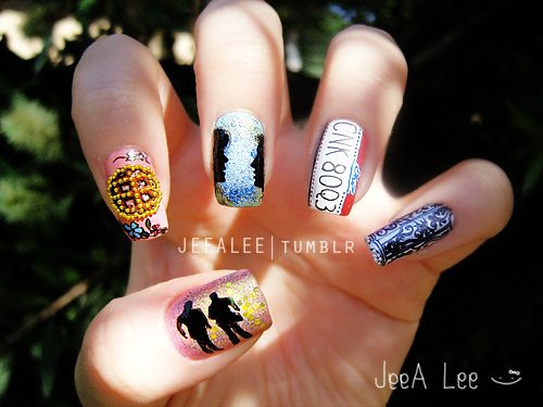 Supernatural nails 4 deans favorite things i might actually supernatural nails 4 deans favorite things i might actually get my prinsesfo Image collections