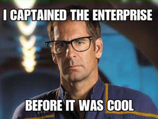 Resultado de imagem para star trek enterprise memes