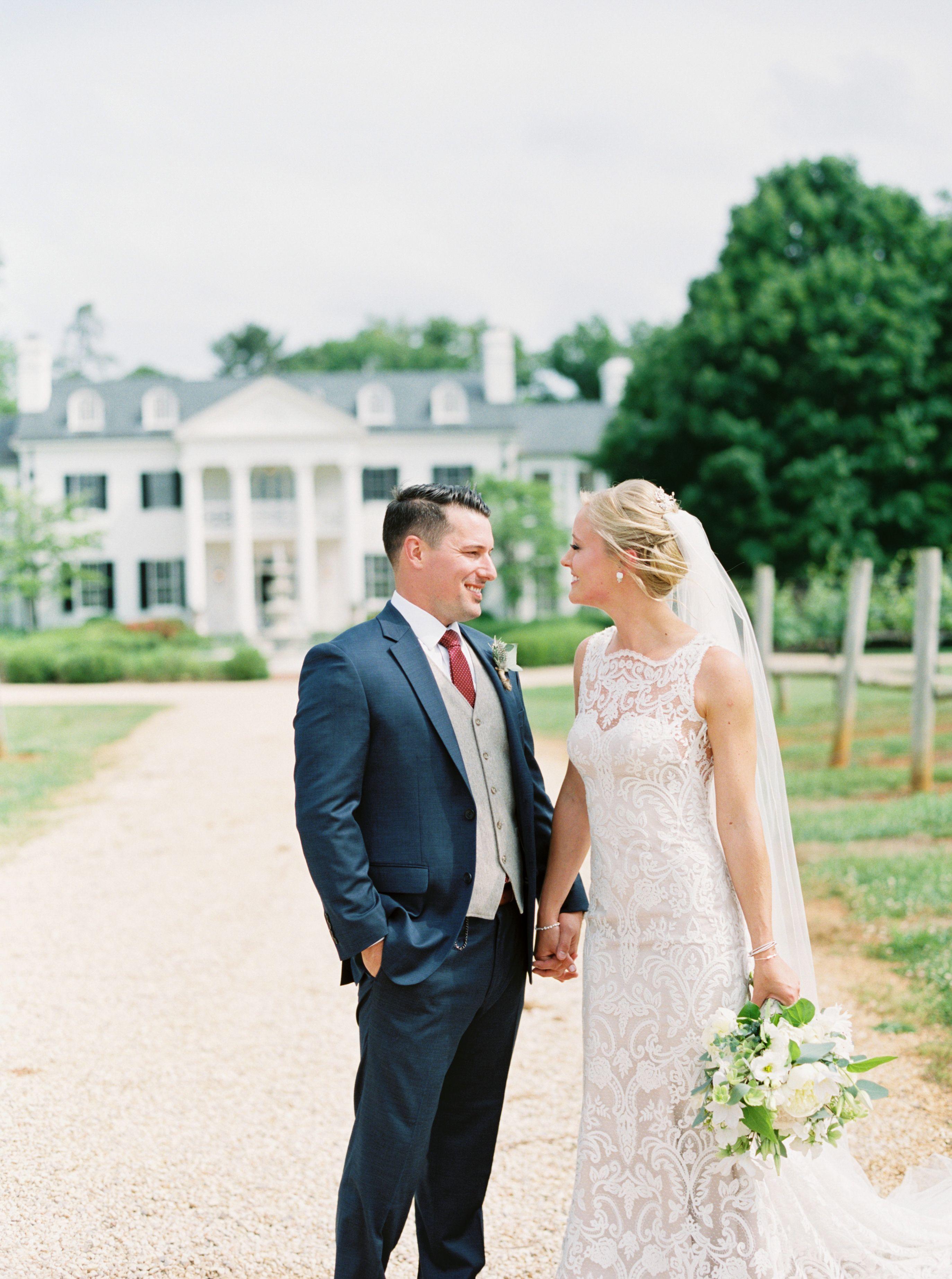 Keswick Vineyards Charlottesville Wedding Venues Shannon