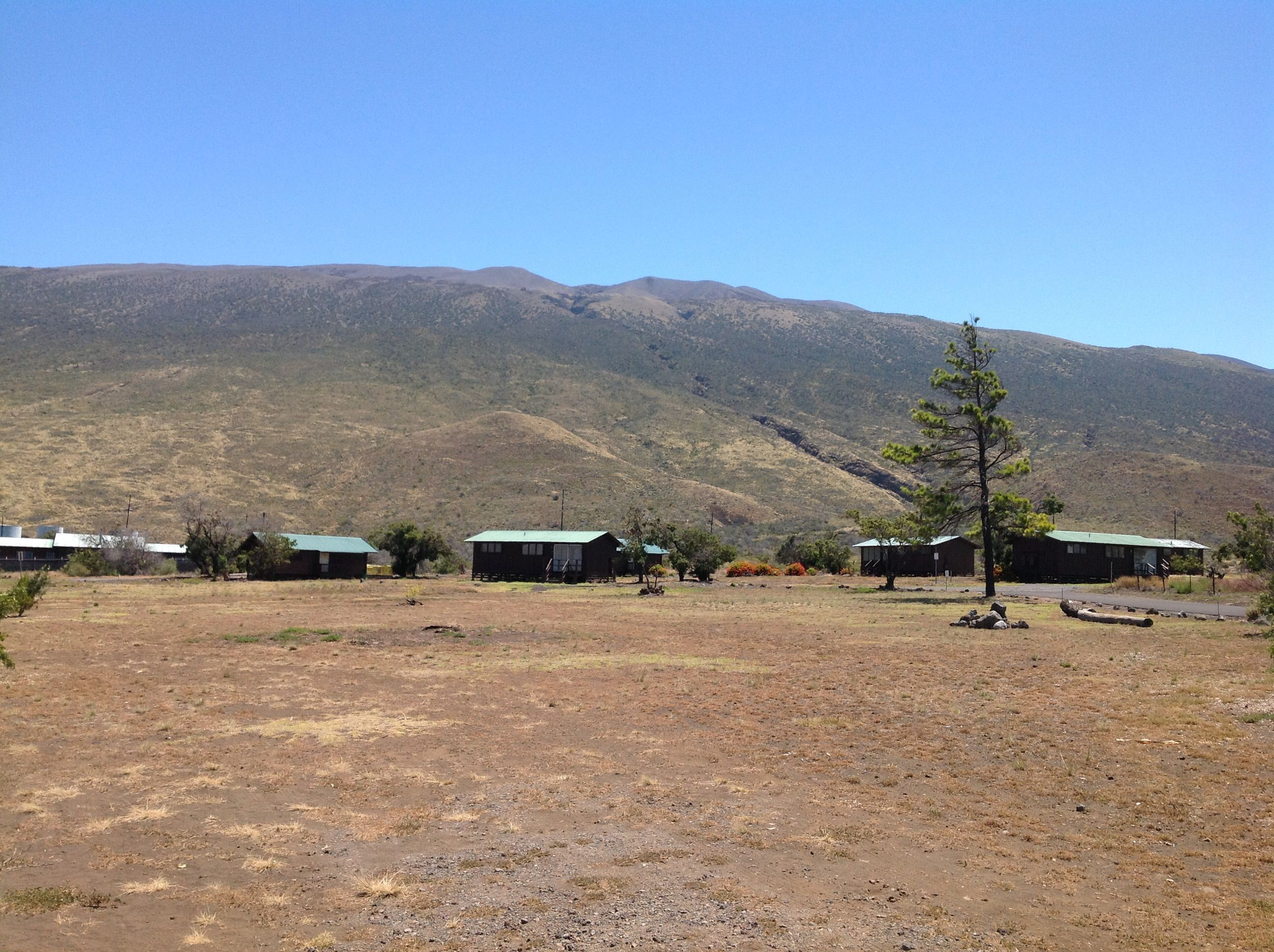 Camping cabins mauna kea stae park big island of hawaii for Big island cabins