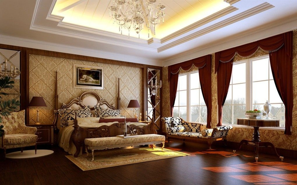 Natty inspiration for impressive luxury living room for Modern classic bedroom designs