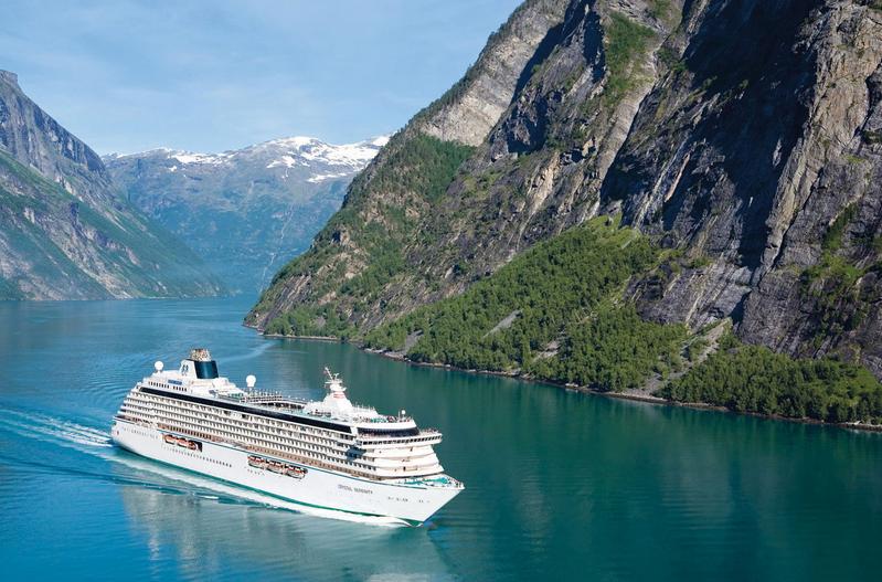 Navio de cruzeiro Crystal Serenity - já pensou em se aposentar e ir morar em um navio transatlântico depois de ganhar na #loteria?