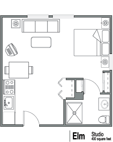 Senior apartments in washington floor plans the - 400 sq ft studio apartment ideas ...