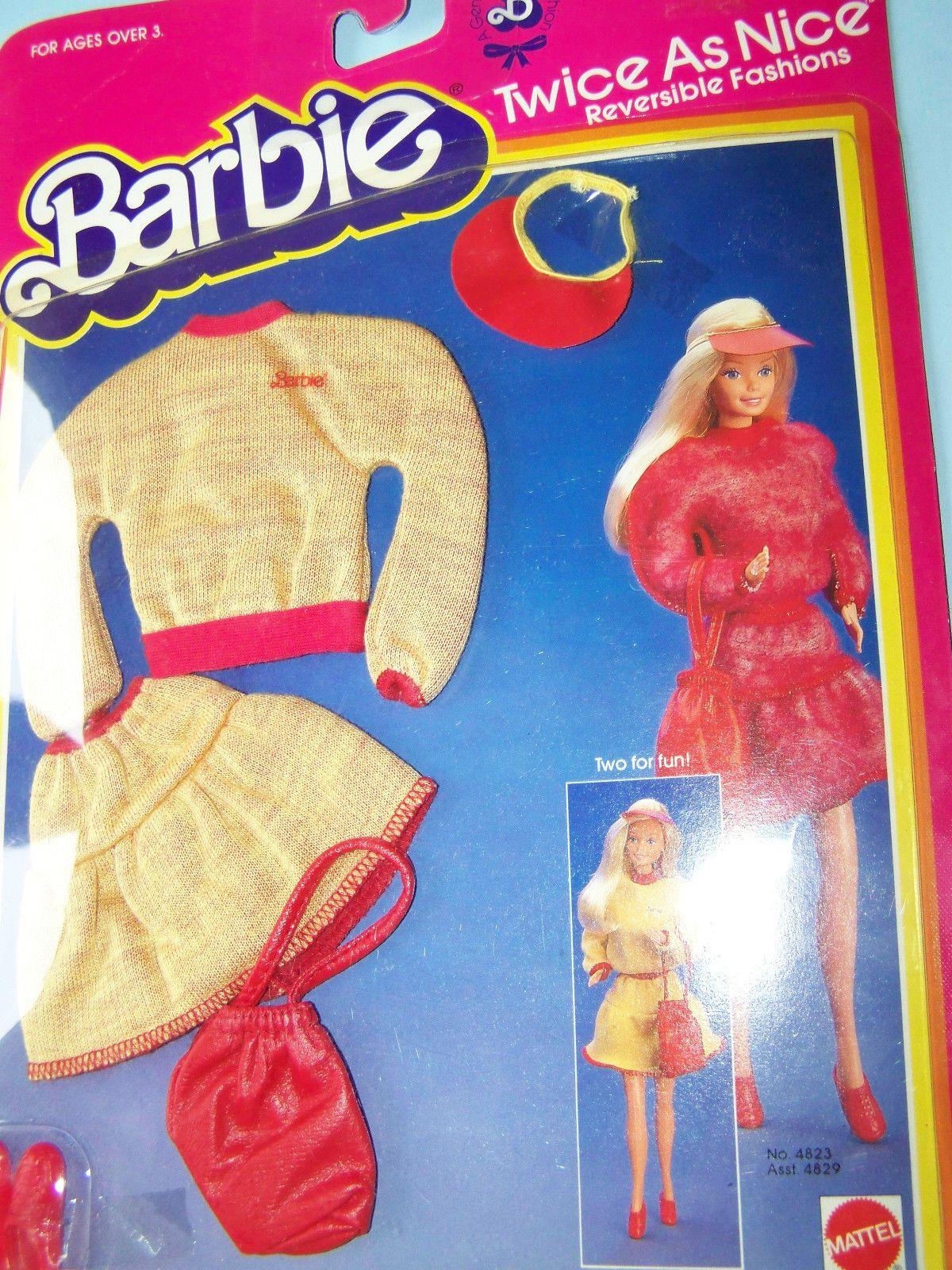 4823 Barbie Twice as Nice Reversible Fashion C 1983 | eBay
