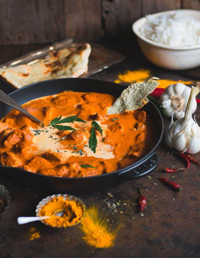 Murgh Makhani - Original Indian Butter Chicken - so gut schmeckt Indien