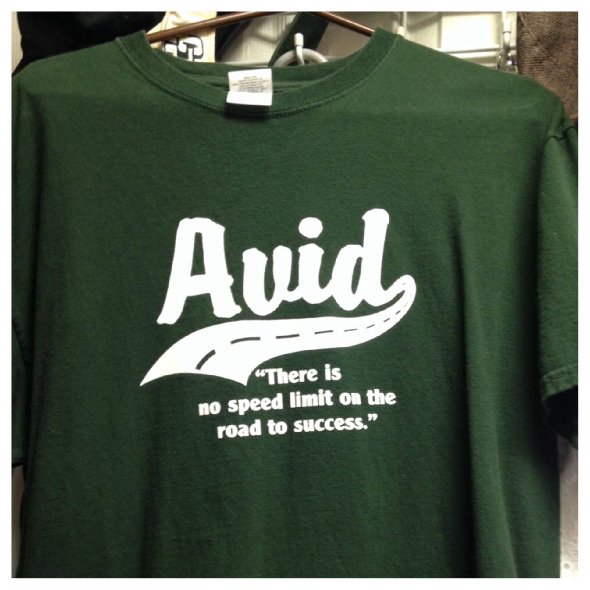 Avid T Shirt Design All Things Avid Pinterest Avid Program
