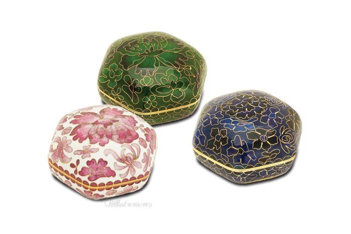 Memory Holder Cloisonne Keepsake, Price: $59.95 available at http://www.thecasketstore.com  #urn #urns #cremation #memorial #keepsake #memento