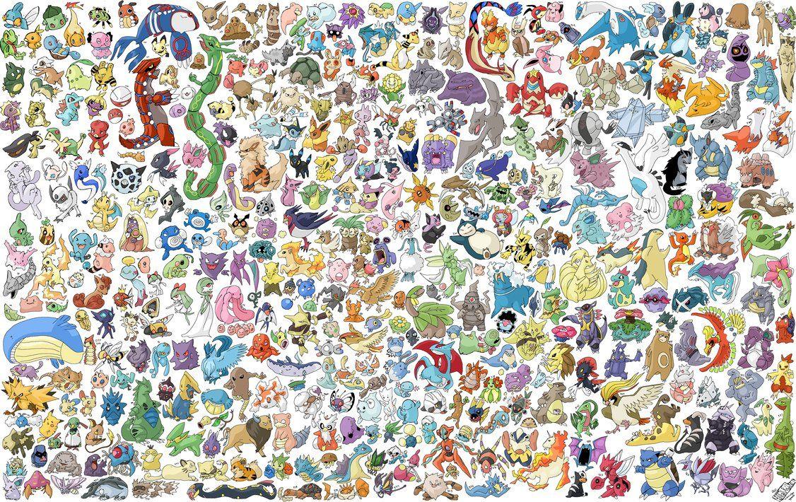 Pokémon Collage Pokemon Poster Cool Pokemon Wallpapers